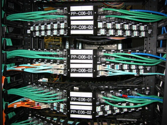 fibre optic patch panel