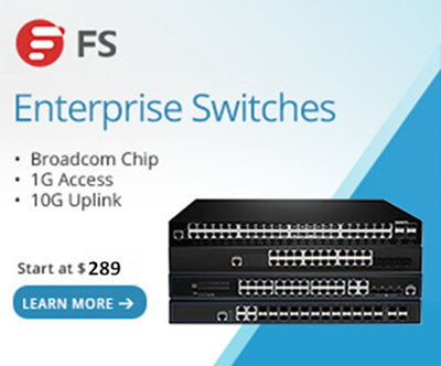 FS 1 10G enterprise switches