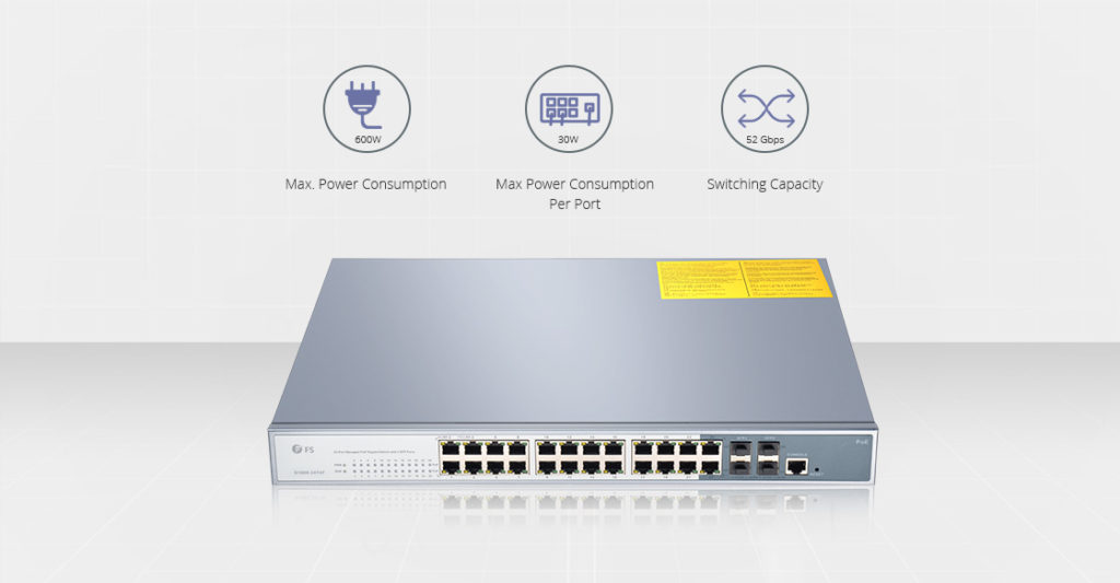 home network switch-PoE type