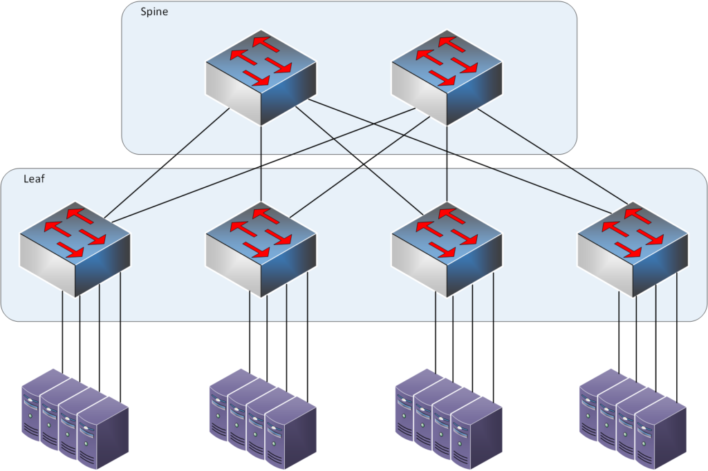 leaf switch in Leaf_Spine architecture