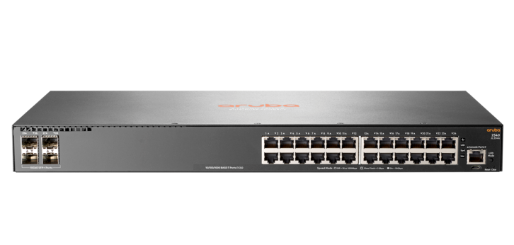 Aruba 24-port Gigabit switch