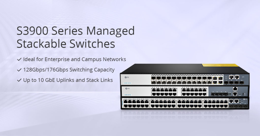 S3900Fanless 24-Port Gigabit Switch
