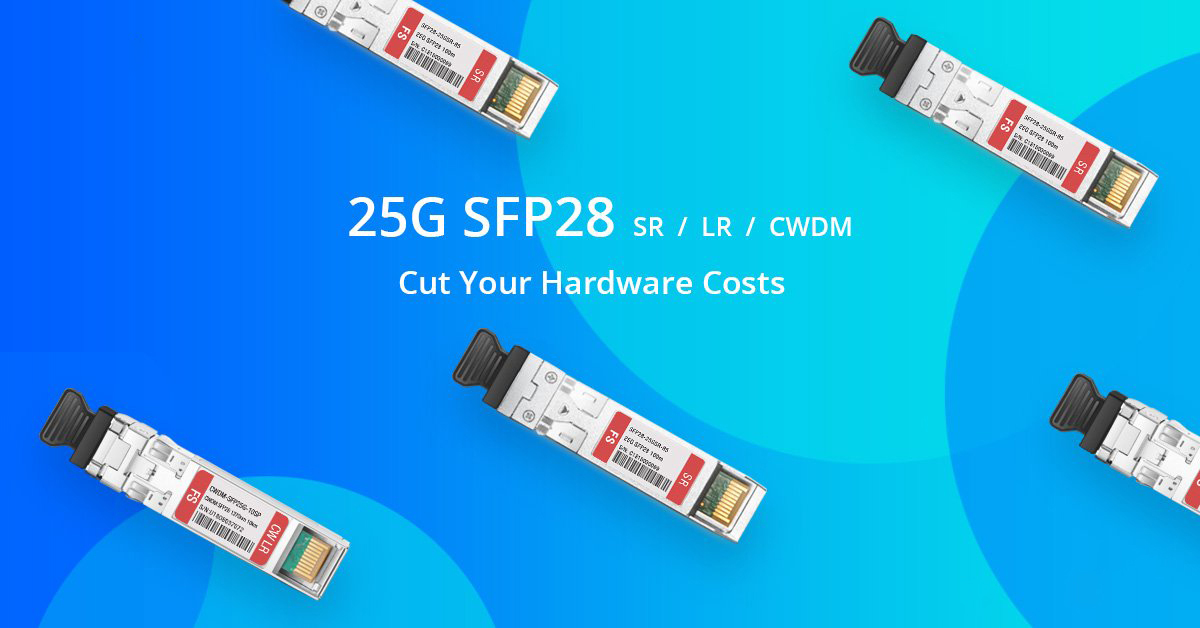 alt 25G SFP28 Transceivers