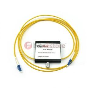 LC APC Variable Fiber Optic VOA In-Line Attenuator 0 to 30dB
