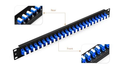 24 port fiber Panel