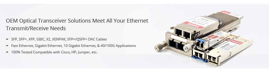 compatible fiber optic transceiver