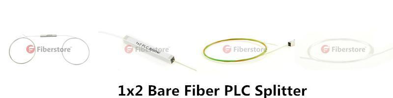 1x2 Bare Fiber PLC splitter