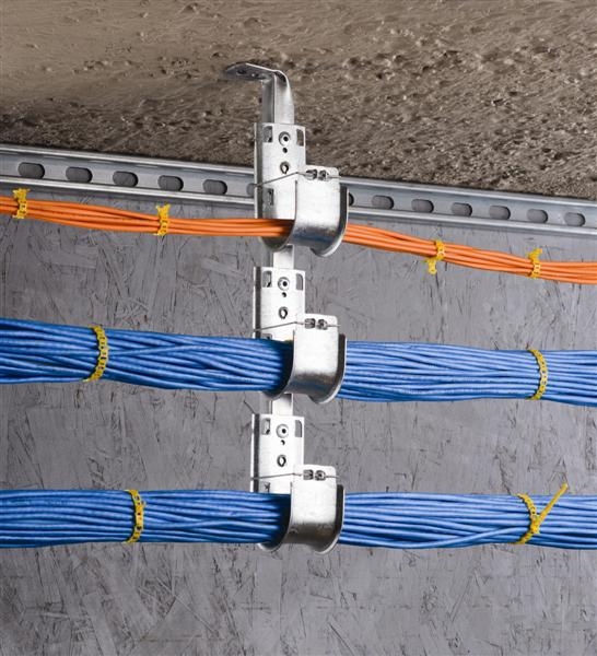 How To Organize Fiber Cables With J Hook
