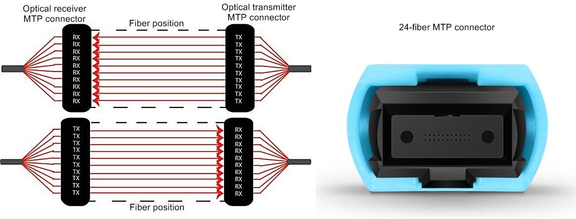 20-fiber parallel system