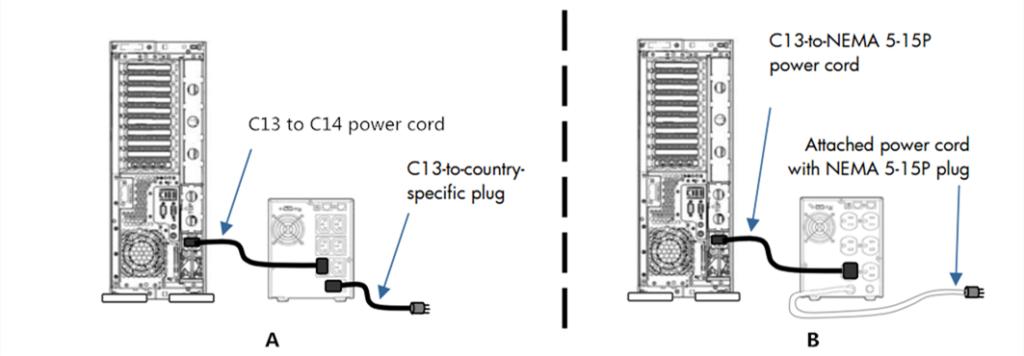 server power cord 1